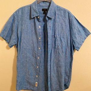 J. Crew Men's Button Front Shirt